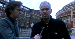 Stuart Appleby interviews three-times Wimbledon champion John McEnroe