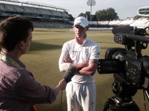 Interviewing England's Ben Stokes