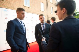 Interviewing England stars Ross Barkley and Luke Shaw