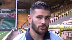 Talking to Norwich's two-goal hero Bradley Johnson