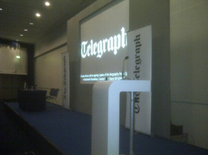 Producing a Daily Telegraph Fringe Event at the Conservative Party Conference in Manchester