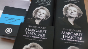 Charles Moore wrote Margaret Thatcher: The Authorised Biography, published this year