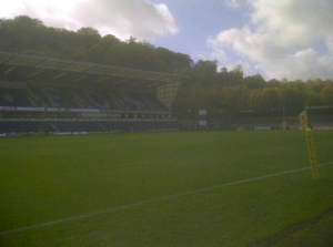 Adams Park - the home of London Wasps