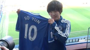 Chelsea Ladies reveal new signing, South Korea star Ji So-Yun at Stamford Bridge