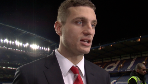 I discussed Manchester United's thrashing at the hands of Chelsea with skipper Nemanja Vidic
