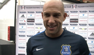 Everton goalkeeper Tim Howard told me the Toffees can finish in the top four this season