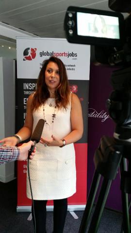 Interviewing Wimbledon 2013 champion Marion Bartoli