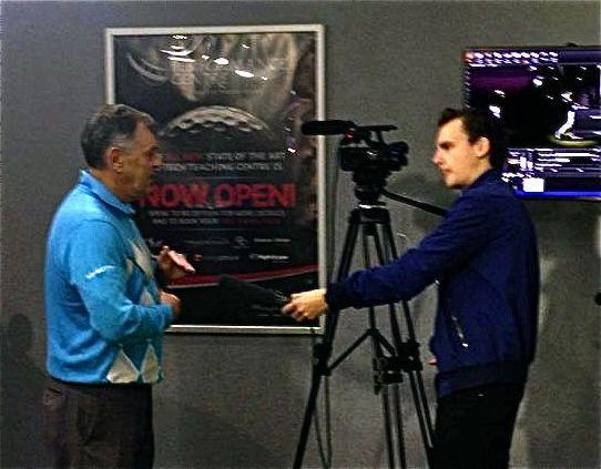 Interviewing Bernard Gallacher