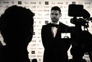Stuart Appleby interviewing James Anderson
