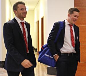 England pair Jos Buttler and Gary Ballance
